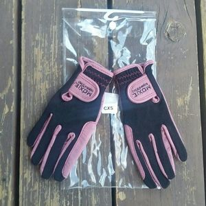 NWT Moxie Equestrian Comfort Fit Gloves Kids XS